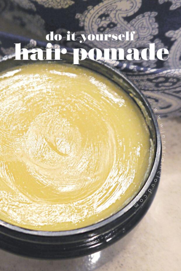 DIY Hair Pomade