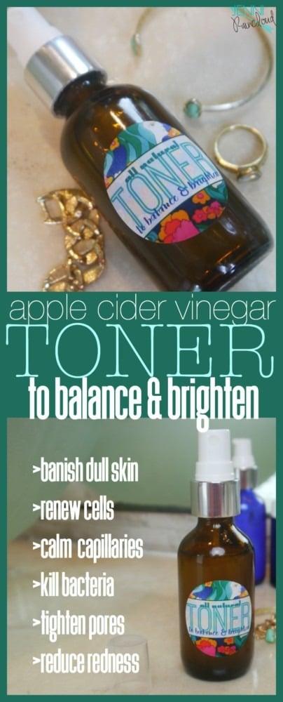 Apple Cider Vinegar Toner