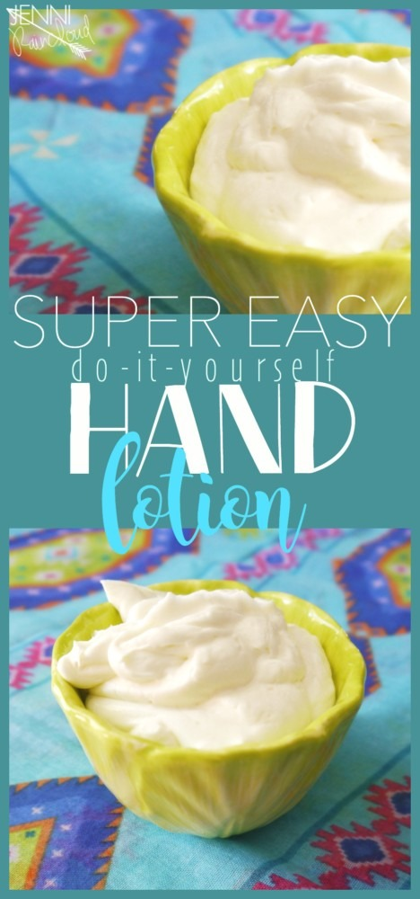 DIY Hand Lotion