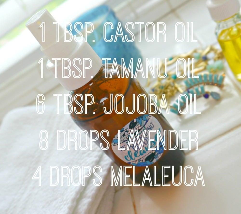 DIY Oily Skin Cleanser
