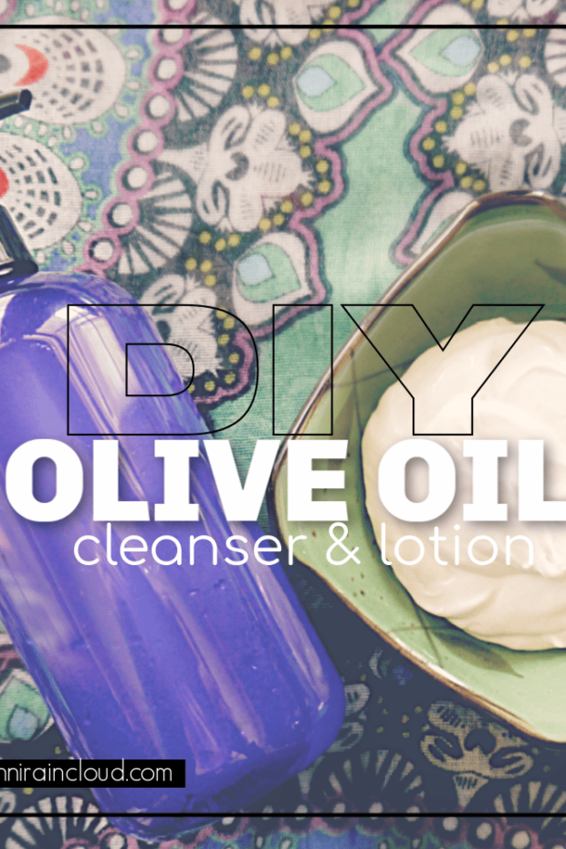 DIY Olive Oil Cleanser & Face Cream