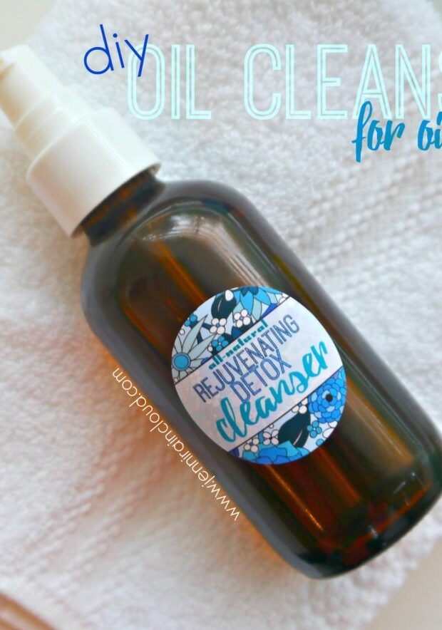 DIY Oil cleanser for oily skin