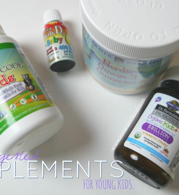 My Suggested Supplements for Young Kids