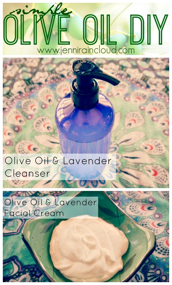 DIY Olive Oil Cleanser and Moisturizer