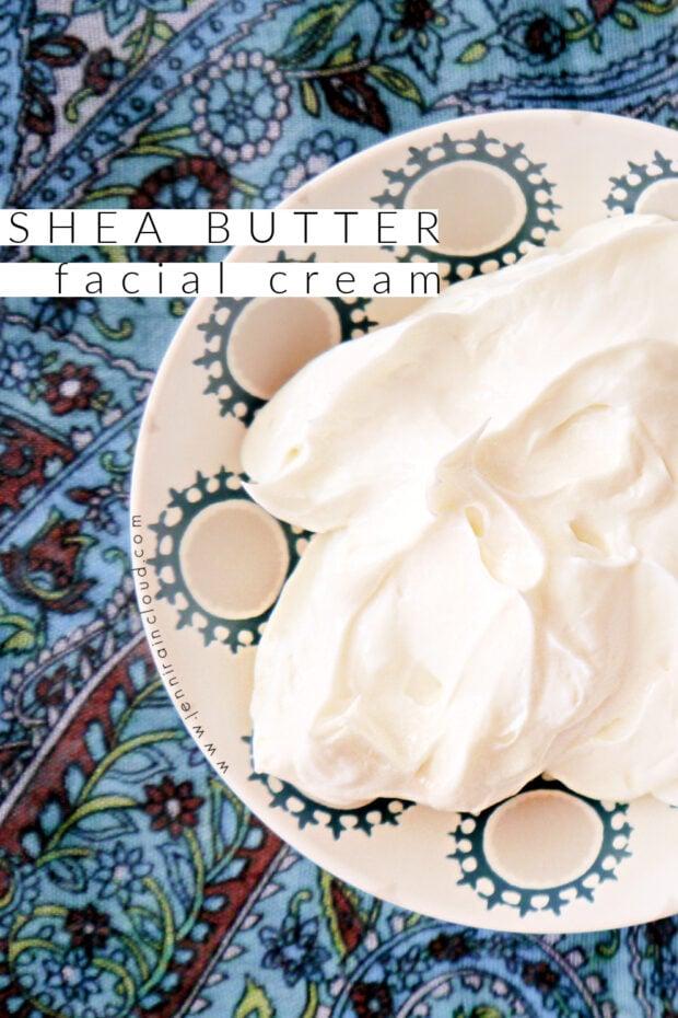 DIY Shea Butter Face Cream
