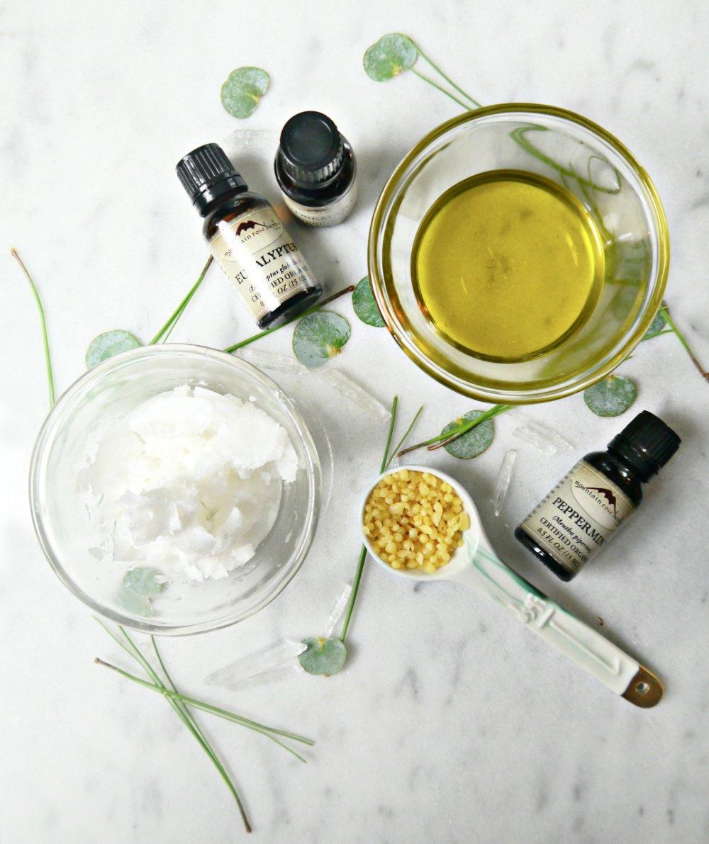 DIY Vapor Rub Ingredients