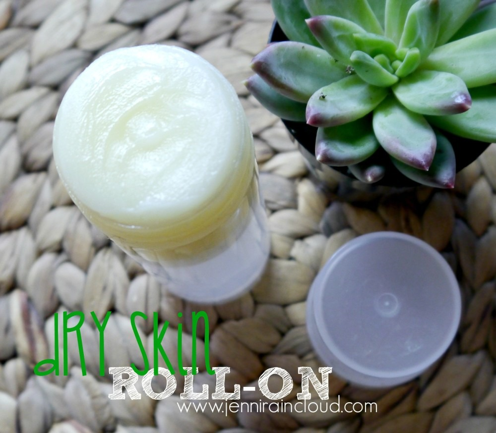 DIY Dry Skin Roll-On