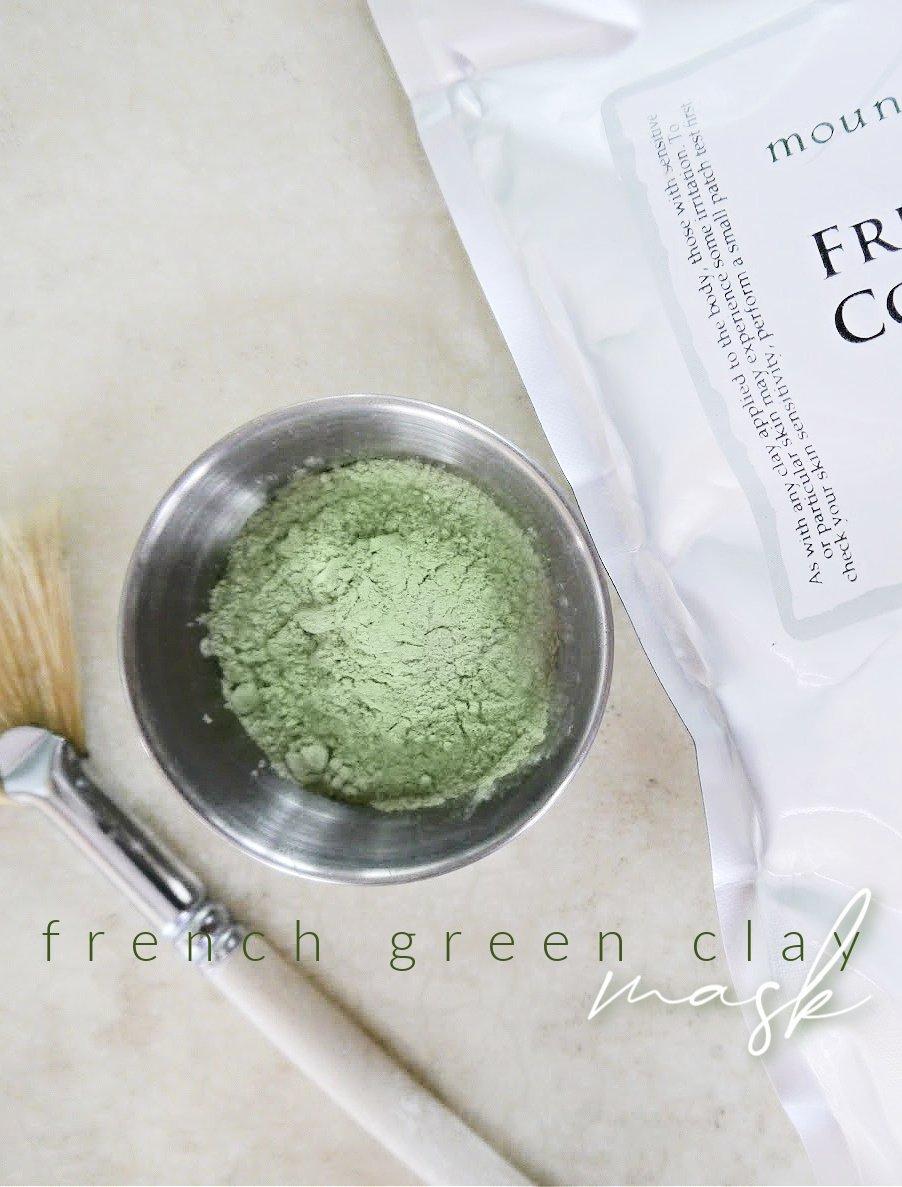 DIY French Green Clay