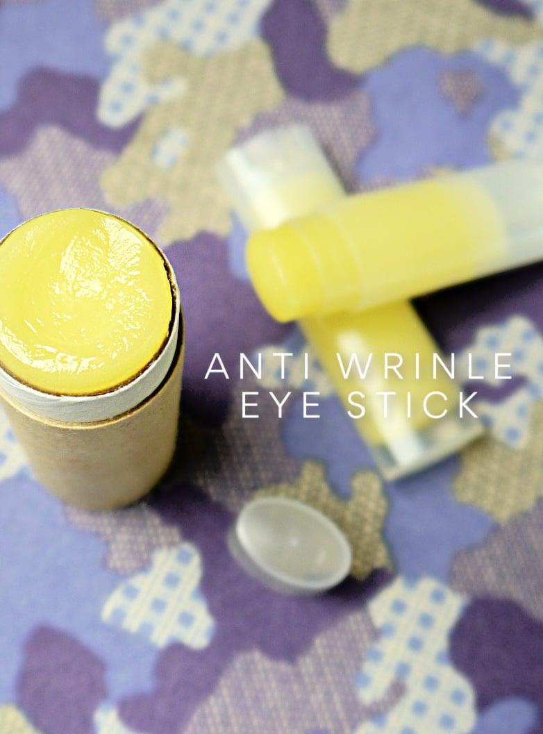 DIY Anti Wrinkle Eye Stick Balm