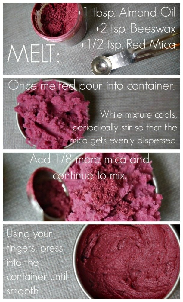 DIY blush instructions Collage