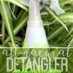 All Natural Hair Detangler