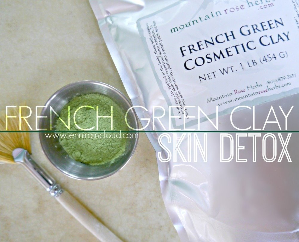 French Green clay…..