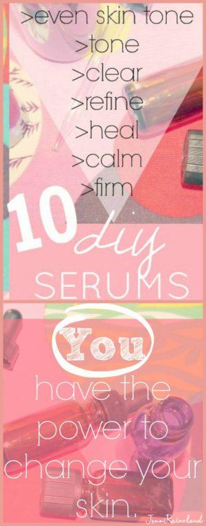 10 DIY skin serums
