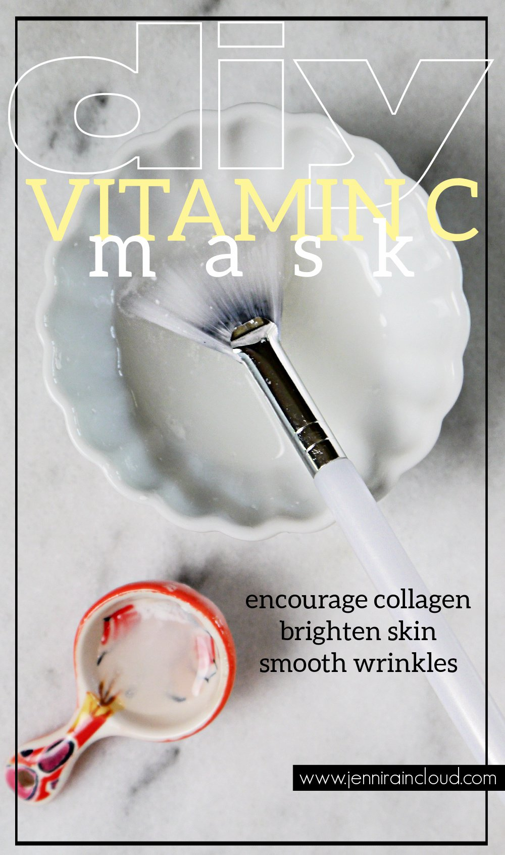 DIY Vitamin C Mask Pinterest
