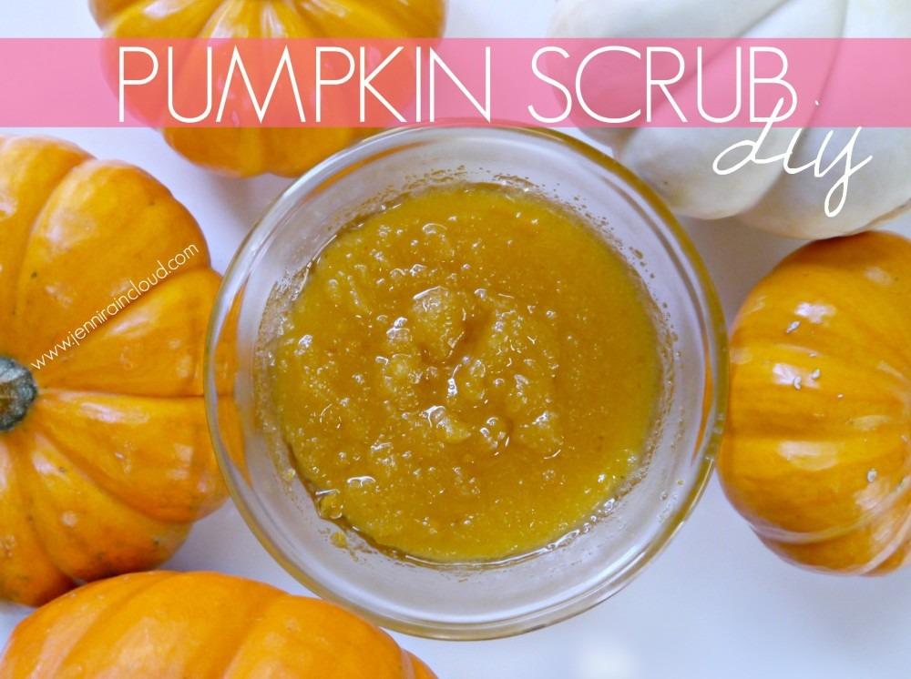Pumpkin DIY Scrub