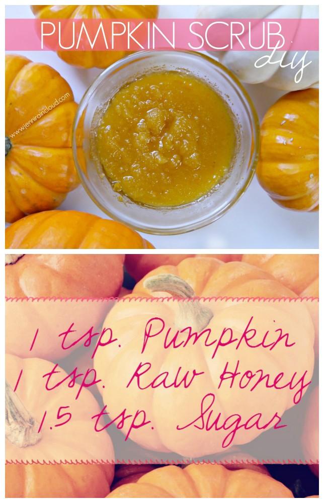 Pumpkin Scrub DIY