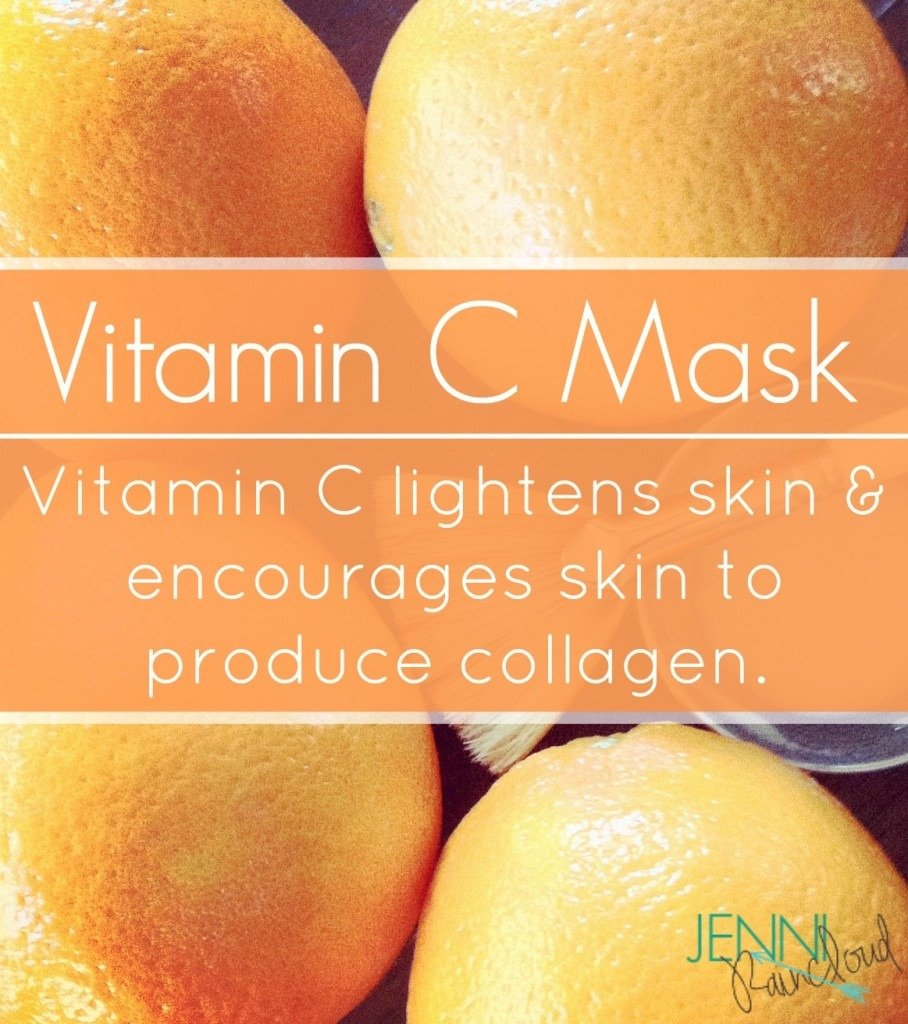 Vitamin C mask…