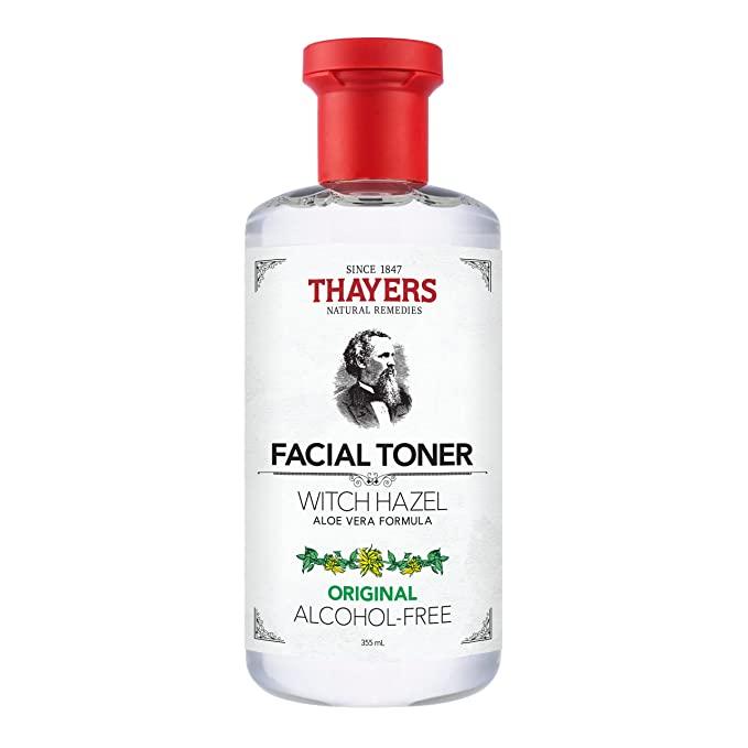 THAYERS Alcohol-Free Original Witch Hazel Facial Toner with Aloe Vera Formula - 12 oz