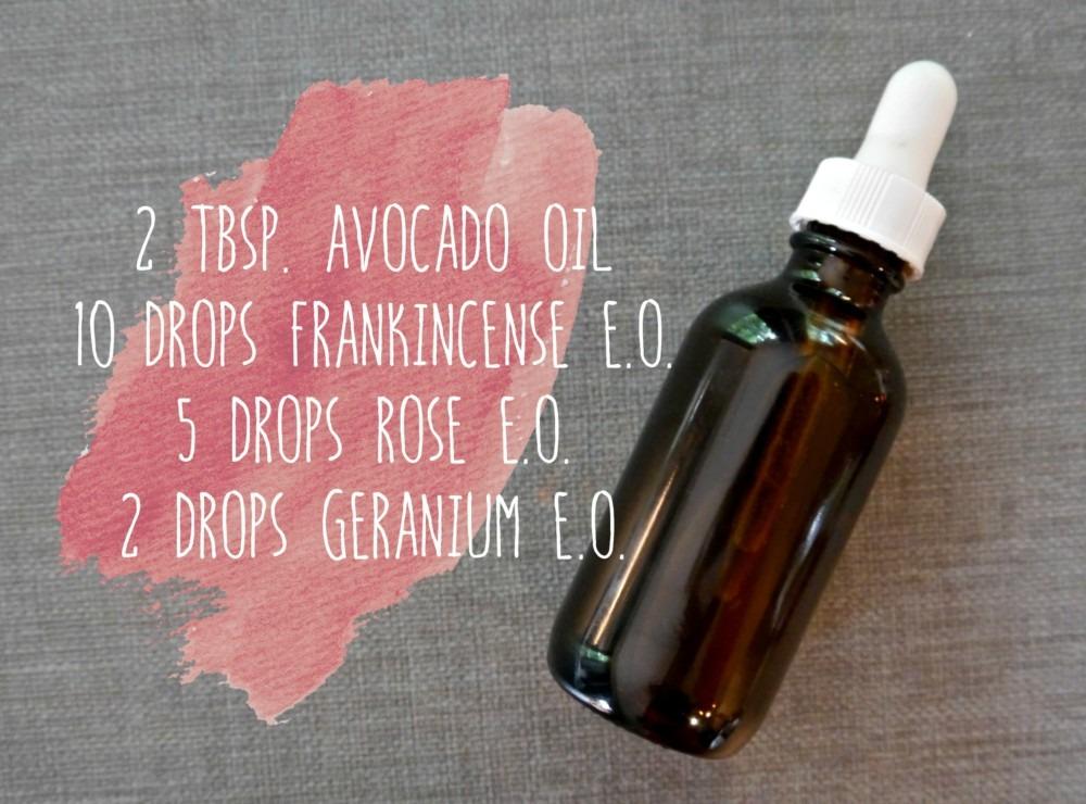 DIY Facial Oil
