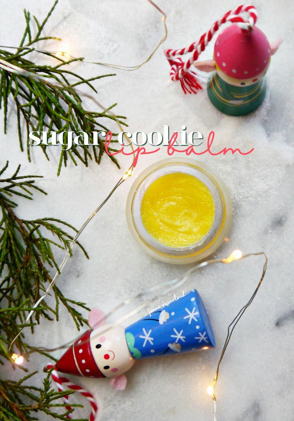 DIY Sugar Cookie Lip Balm