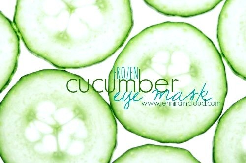 Cooling Cucumber Mask