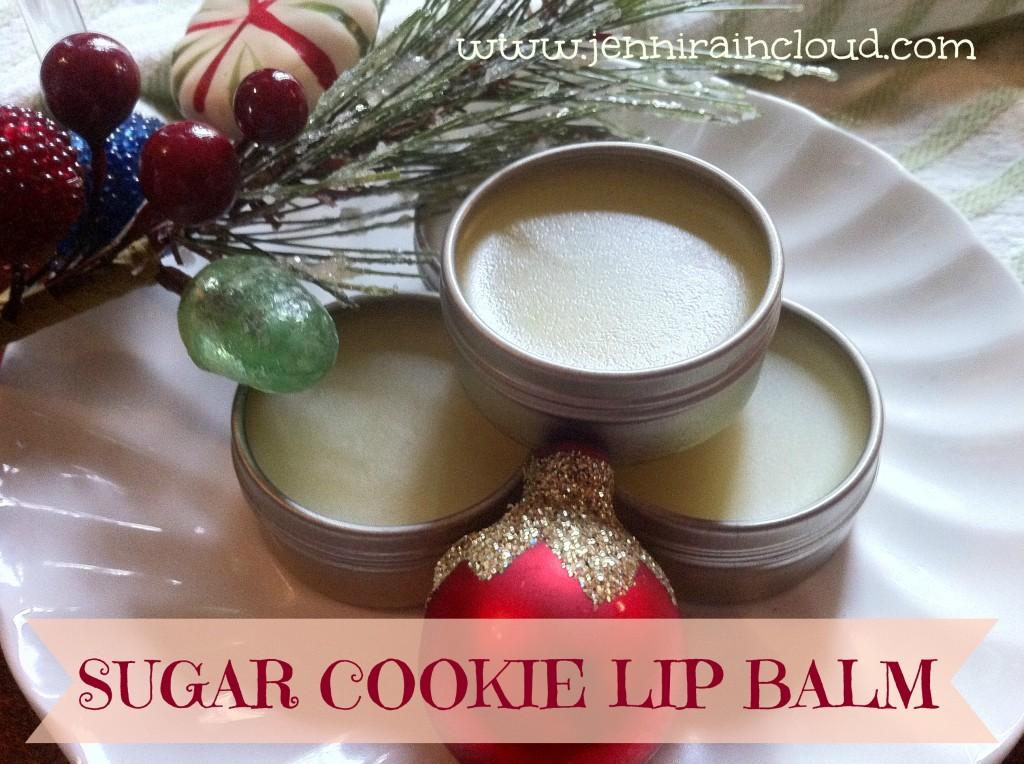 sugar cookie lip balm
