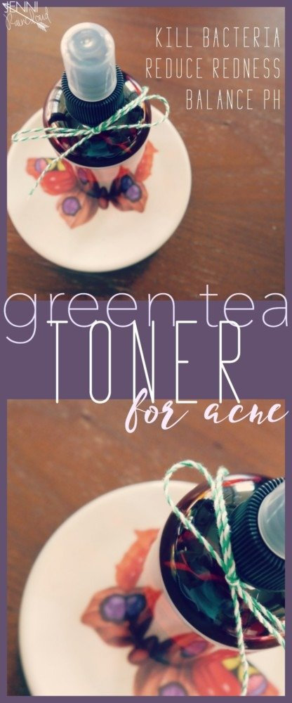 DIY Green Tea Toner