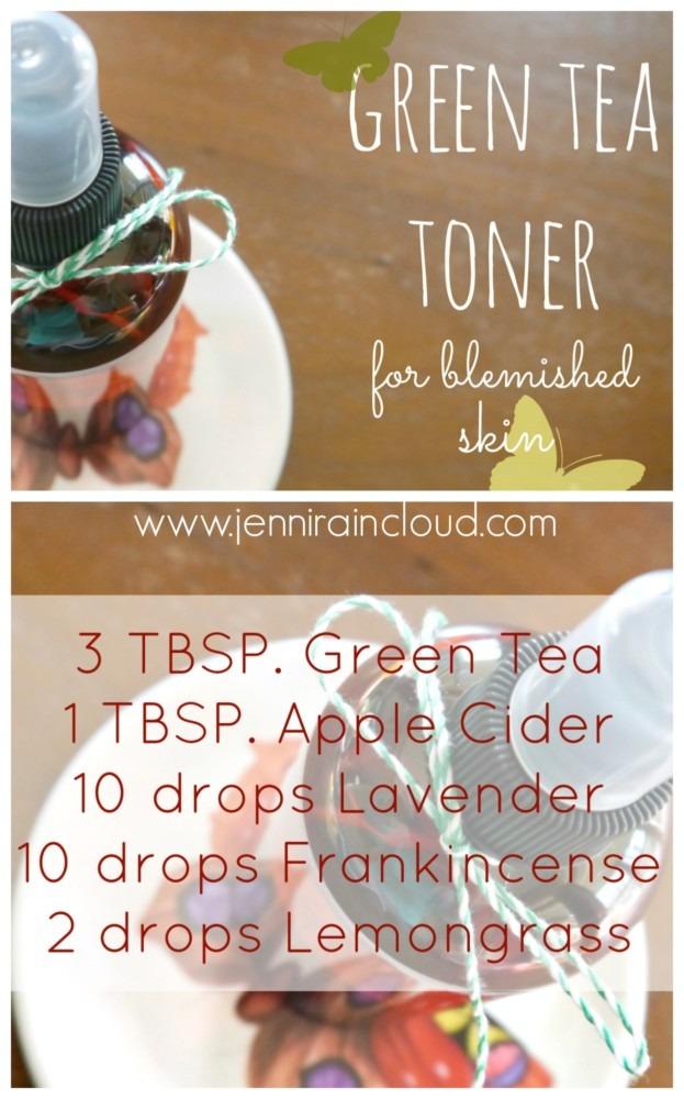 Green Tea Toner DIY
