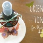 Green Tea Toner (for acne prone skin)