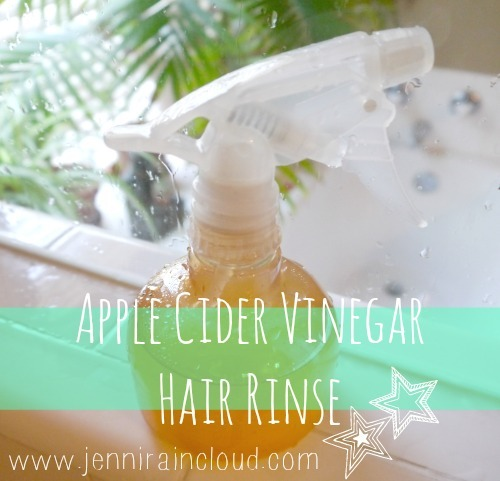 EASY Shiny Hair Rinse