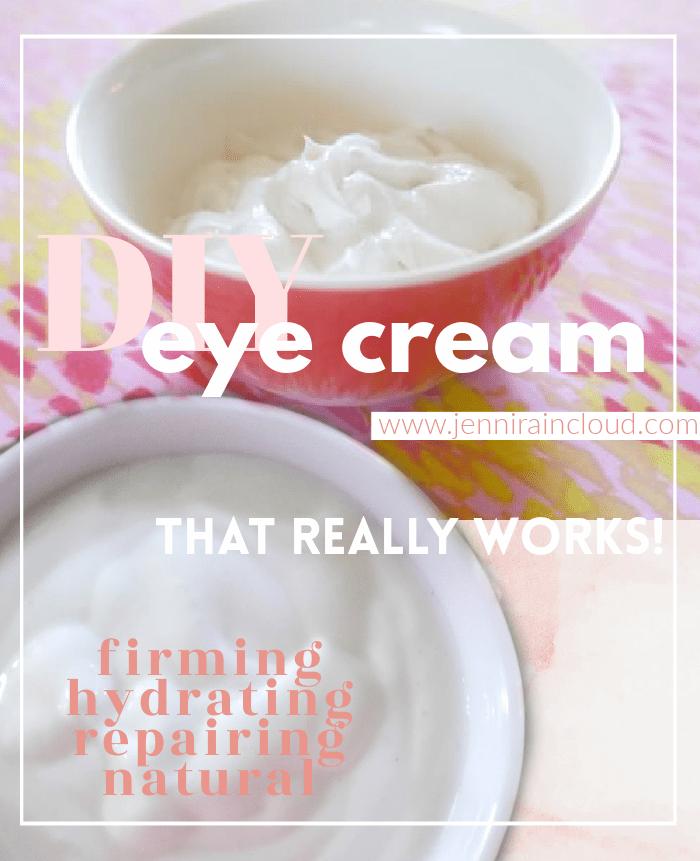 DIY Firming Eye Cream