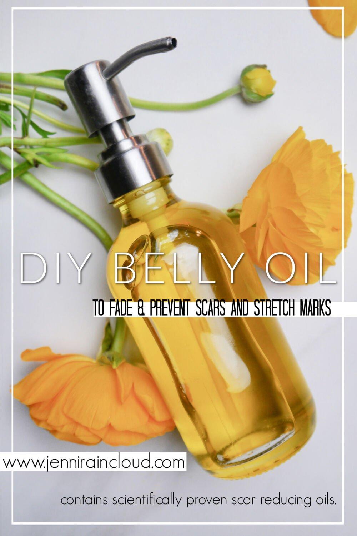 Homemade Belly Oil Pinterest
