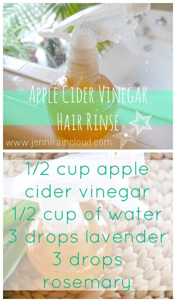 Apple Cider Vinegar DIY Hair Rinse