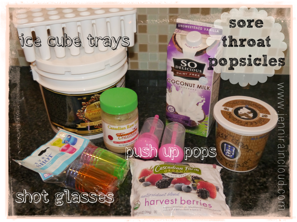 sore throat popsicles 1