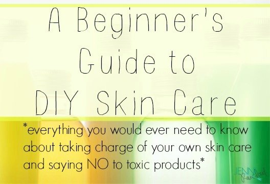 A beginner's guide to DIY skin care