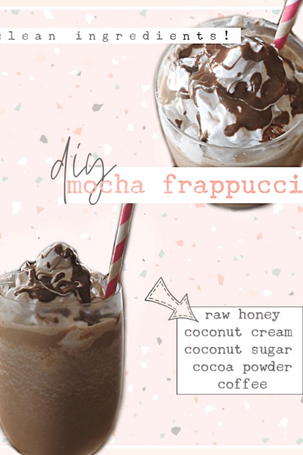Healthy DIY frappuccino