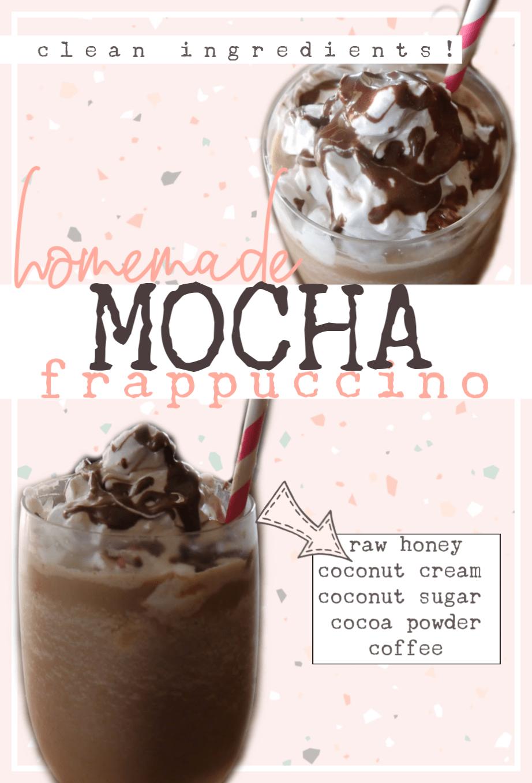 DIY Mocha Frappuccino