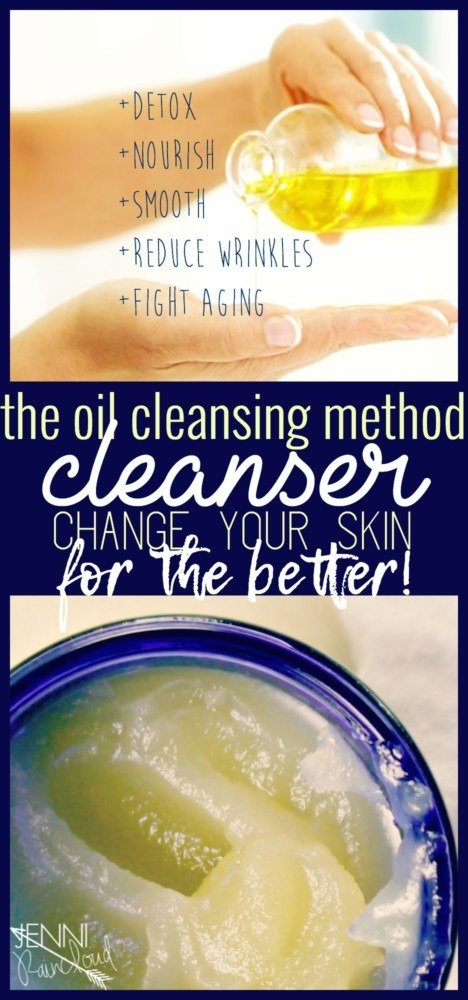 The Oil Cleansing Method Cleanser DIY