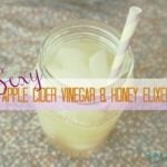 Apple Cider Vinegar & Honey-A Little Pick Me Up!