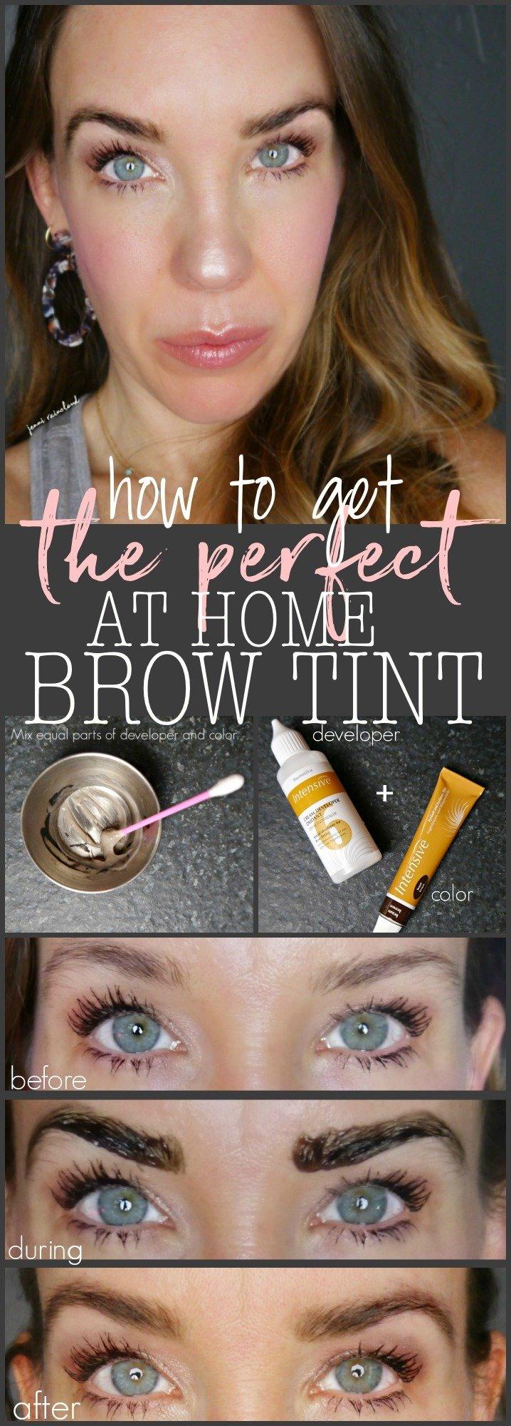 At Home Brow Tint