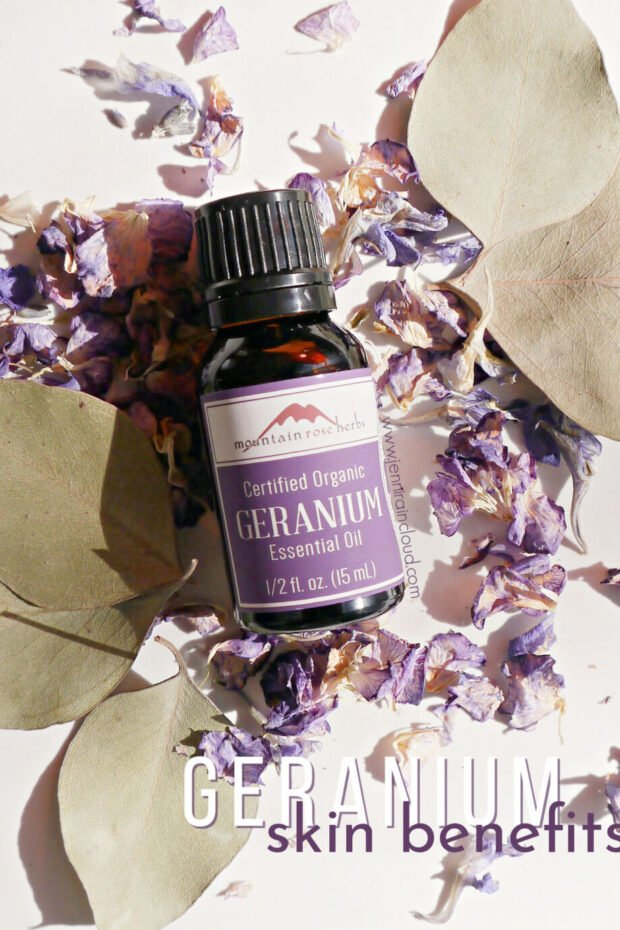 Geranium Essential Oil Skin Benefits