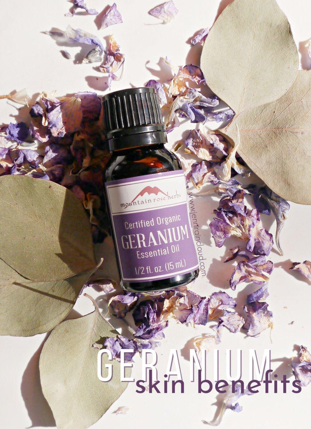 Geranium Essential Oil Skin Benefits
