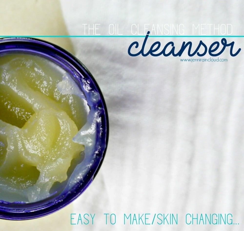 DIY Oil Cleanser