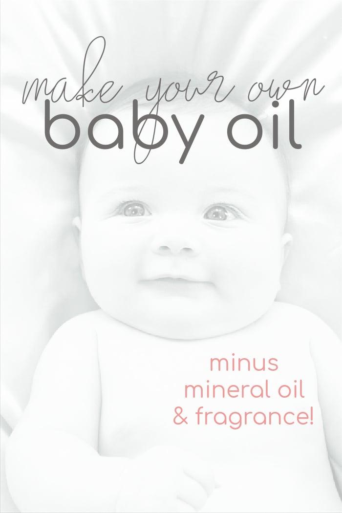 DIY Baby Oil
