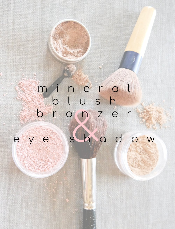 DIY Mineral Blush Bronzer & Eye Shadow