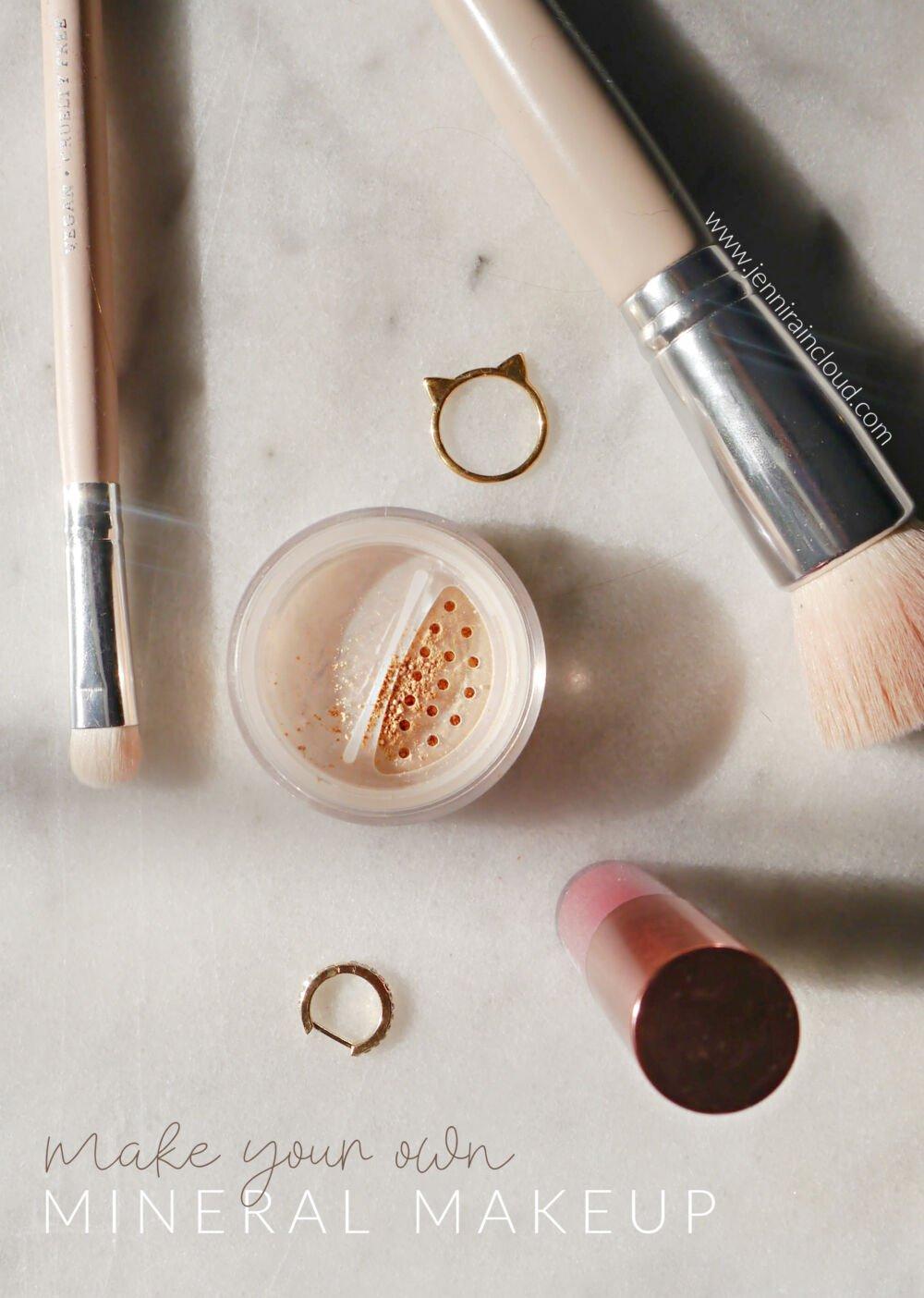 Diy Mineral Makeup Jenni Raincloud