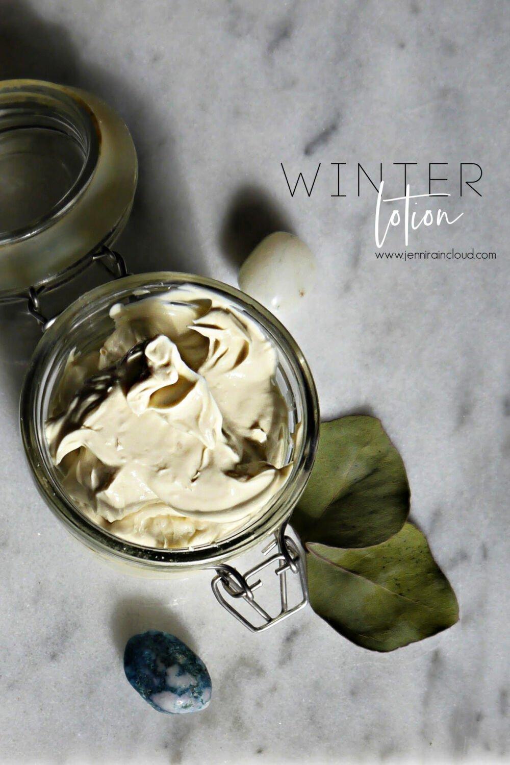 DIY Winter Lotion