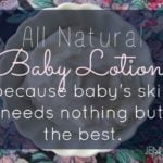 DIY Baby Lotion