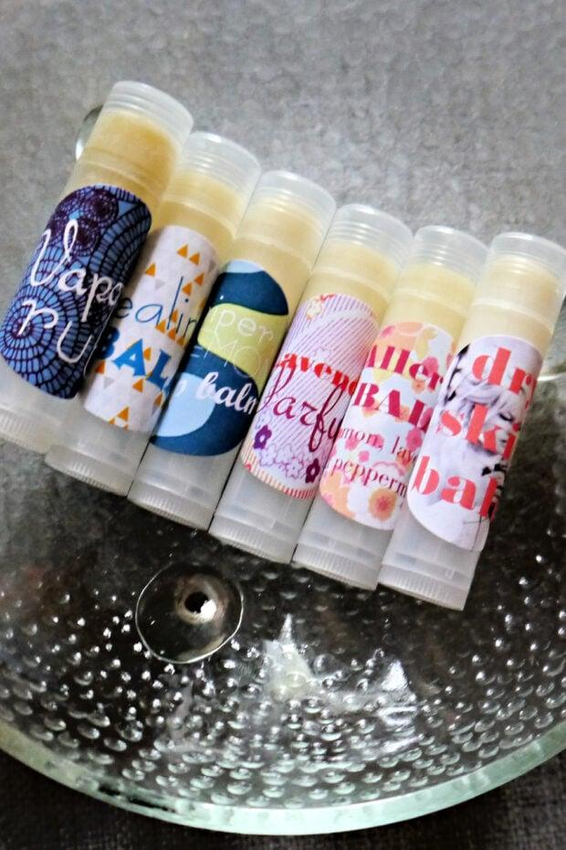 DIY Lip Balm Tube Fun!