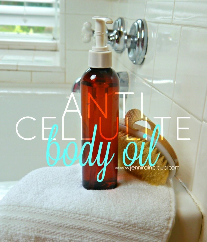 DIY anti cellulite oil